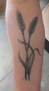 wheat! in memory tattoo?!
