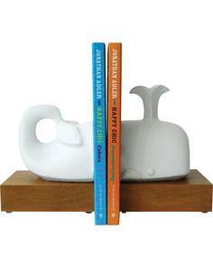 Jonathan Adler Jonathan Adler Whale Bookends from Casa | Shop Parents.com