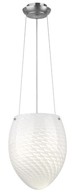 Granite City Electric in Plymouth, Massachusetts, United States, Forecast F40936, One Light Nickel Up Pendant, Margaret, Nickel - Satin Nickel