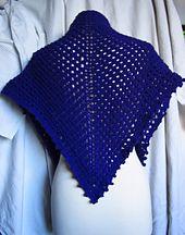 Ravelry: Chal Violeta (Pattern in Spanish) pattern by Prisca Toftegaard