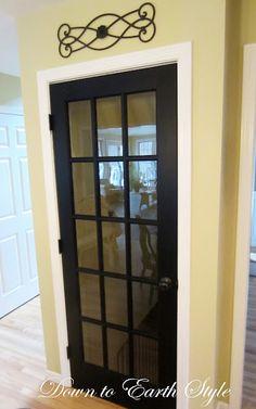 Inside door to the basement idea