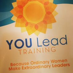 You Lead Spokane! May 15 and 16, 2014.  Sign up at www.lifeway.com