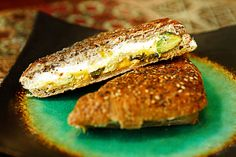 roast jalapeno, avocado grill, food, yummi sandwich, recip, grilled cheeses, grill chees