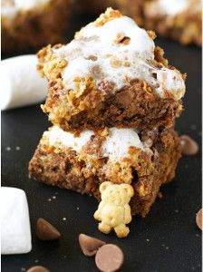 Bar cookie recipes are great for potlucks, and if you're bringing them to a party, why not make them stand out from everyone else's dishes? This recipe for Slow Cooker S'mores Cookie Bars is certainly a fun spin on more traditional bar cookie recipes.