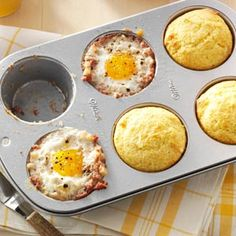 Meal in a Muffin Pan Recipe from Taste of Home