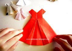 MeiJo's JOY: Tutorial -- paper dress