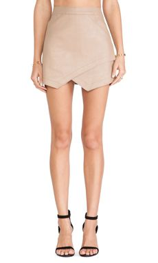 Shop for BCBGMAXAZRIA Envelope Skirt in Camel at REVOLVE. Free 2-3 day shipping and returns, 30 day price match guarantee.