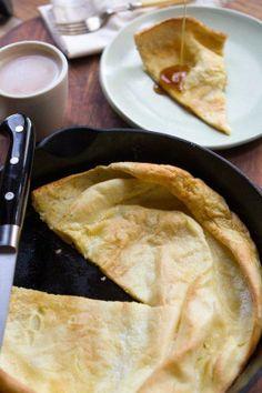 #Recipe: Big Pancake (Dutch Baby)