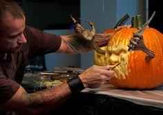 10 Questions for Ray Villafane and Andy Bergholtz, Pumpkin Sculptors