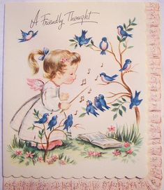 Vintage Greeting Card by MissConduct*, via Flickr