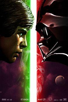 Star Wars - Return of the Jedi by  Sahinduezguen jedi, starwar, return, star wars, teaser poster, movi, posters, forc, galaxi