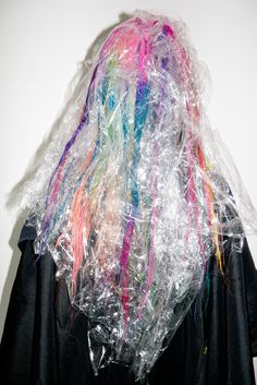 Rainbow hair / Terry Richardson's Diary - Chloe at my studio #1