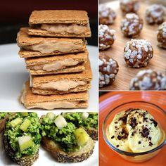150 Calorie Homemade Snacks // 30 Easy Ideas #snackattack