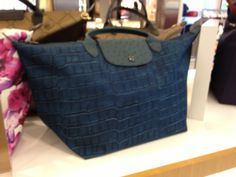 #Peacock blue bag .  At retail in Taipei