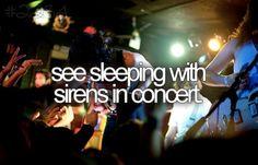 sleeping with sirens!