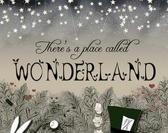 There's A Place Called Wonderland