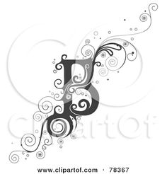 Tattoo Design Letters B