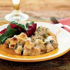 Chicken and Broccoli Casserole | Cookinglight.com