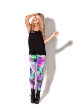 Chill Out Leggings - LIMITED by Black Milk Clothing