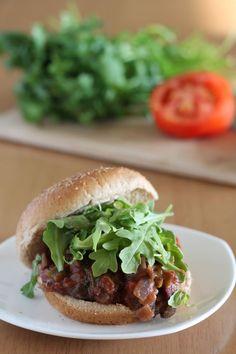 Vegan Tex-Mex Sloppy Joes by veganyumminess: No tofu and no fake meat! #Sloppy_Joes #Vegan