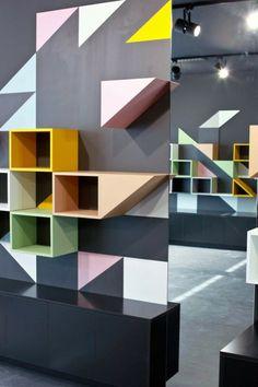 Noe shoes retail store interior design - IYA Studio