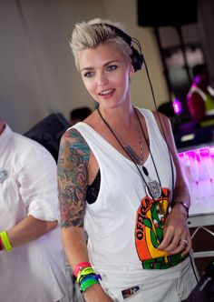 Ruby Rose - Sensation's New Year's Eve Celebration In Melbourne