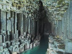Fingal's Cave, Hebrides, Scotland  The cave to go with one of my favorite songs!!!