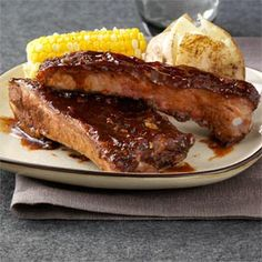 Big Daddy's BBQ Ribs Recipe from Taste of Home -- shared by Eric Brzostek of East Islip, New York