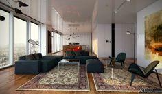 Interior scene render by Kim Jungin of RC1 Studio. Max, Vray, PS