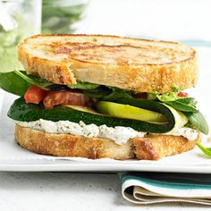 Farmer's Grilled Cheese!  Love it.