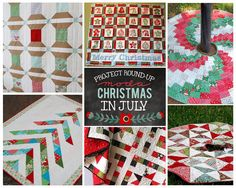 Moda Bake Shop: Christmas in July Round Up