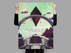 No Man's Sky Cockpit Poster