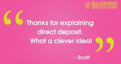 #RealQuotes from #RealPeople (like Scott) in our social media  #community www.socialsecurity.gov/deposit