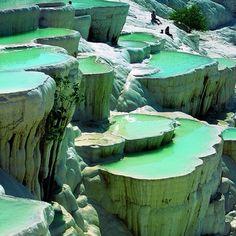 Rock pools, Turkey