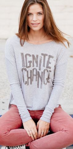 Fall is finally here! Stock up on some comfy longsleeves & know that your #Sevenly purchased changed a life. Click to learn more!