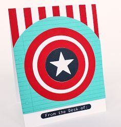 Release Countdown Day 7 - From the Desk of Captain America