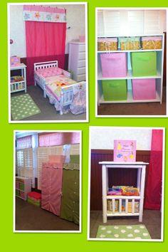 Toddler girl room !