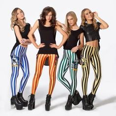 Black Milk Harry Potter Line-Hogwarts House Leggings-Black Milk Facebook