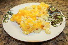 Macaroni and Cheese  http://apilotandanurse.blogspot.com/