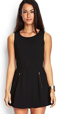 Need a cute #night outfit? This #black #romper is perfect!