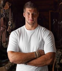 Tim Tebow, the man, the myth, the legend. He's my hero