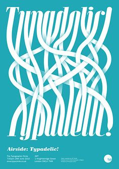 graphic design, circles, type design, spaghetti, letter