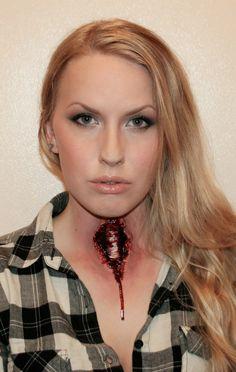 Bloody/psycho makeup | Sandra Holmbom