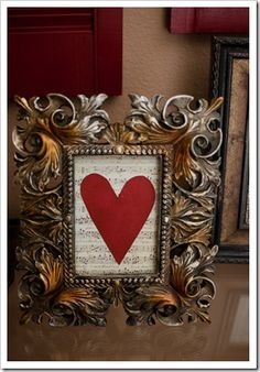 Valentines valentine day, wedding songs, a frame, valentine decorations, sheet music, vintage frames, music sheets, valentine ideas, picture frames