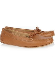 A.P.C. Leather moccasins