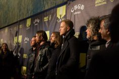 Imagine Dragons on the red carpet.