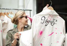 Jaquetas grafitadas - por Patrícia Vieira