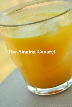 The Singing Canary drink....for ADRENAL FATIGUE. It's an ADRENAL REVIVER; it's pretty tasty, too... https://www.facebook.com/photo.php?fbid=548404118546773&set=a.394655747254945.94224.277546472299207&type=1&ref=nf