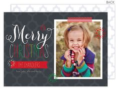 So Posh Merry Christmas Photo Cards