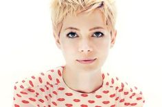 Michelle Williams Pixie Haircut is stunning. Or maybe it is just her!